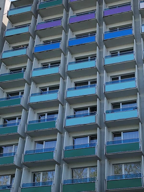 Gyulai Erkel Hotel erkély korlát gyártás